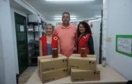 Vinaròs, l'ajuntament entrega 48 quilos de mel a la Creu Roja