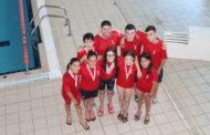 Excel·lent actuació del Club Natació Vinaròs en el Campionat Provincial Aleví