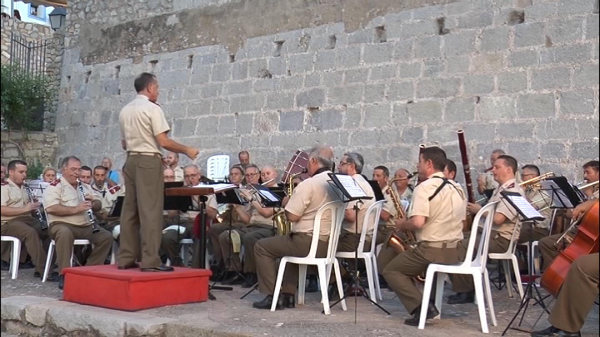 Peníscola, Concert Extraordinari de les Forces Armades a la província de Castelló