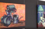 Benicarló. Inauguració de l'exposició dels alumnes de Collage, d'Isabel de Lorena Oms al Mucbe 23/06/17
