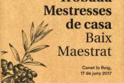 Canet lo Roig celebrarà dissabte la 20a Trobada de les Mestresses de Casa del Baix Maestrat