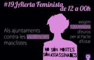 Benicarló, s'afegeix a l'Alerta Feminista 19J