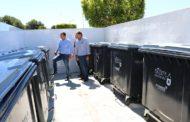 Peníscola habilita tres espais de gran capacitat de recollida de residus al Centre d'Estudis