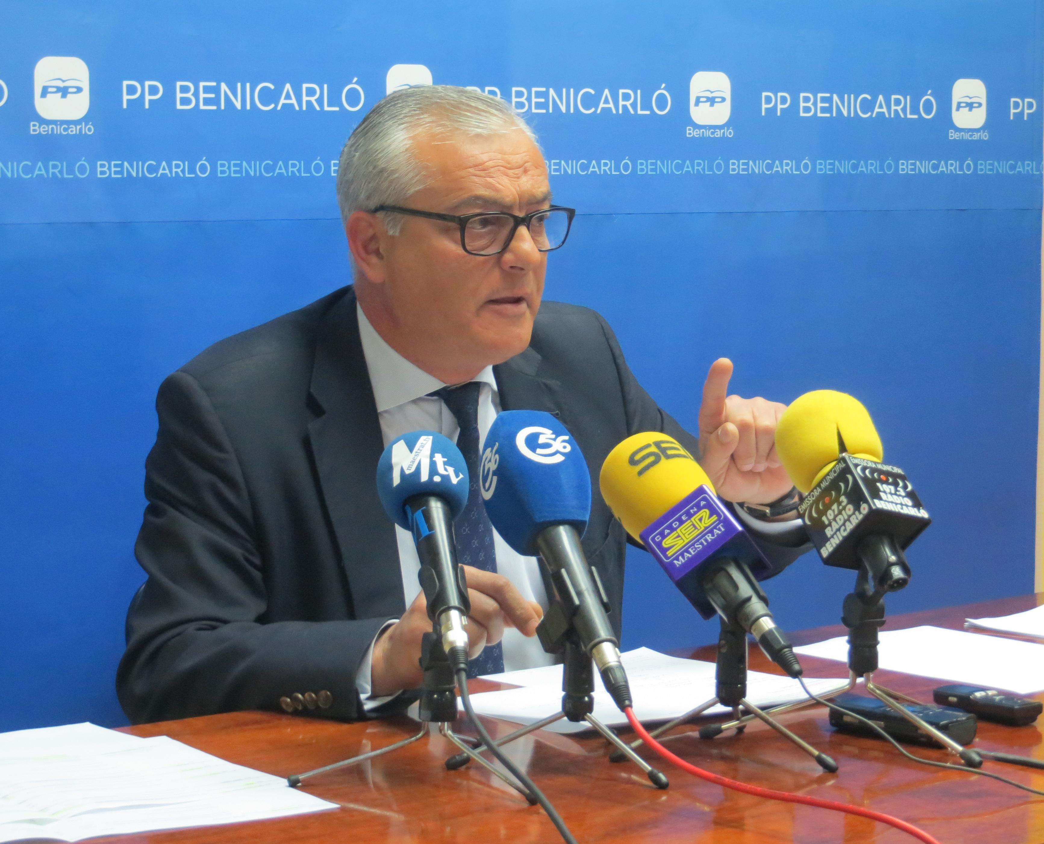 Benicarló, el PP exigiex al govern municipal el pagament de la subvenció 2016 a AFANIAS