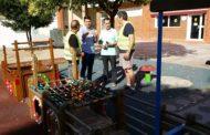 Benicarló. Obres i Serveis repara i adequa els parcs infantils 21/06/2017