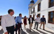 Peníscola, la Diputació presenta el nou punt d'atenció als visitants ubicat al Far