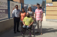Benicarló; presentació de les millores en accessibilitat a la pista annexa del Pavelló Poliesportiu 12/07/2017