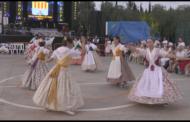 Santa Magdalena, el Grup de Danses Magdaleneres ofereix un recital dintre de la programació festiva