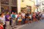 Xert; Oferta de pastissos a la Plaça Vella 17-08-2017