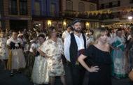 Benicarló, centenars de persones participen en la ballada popular
