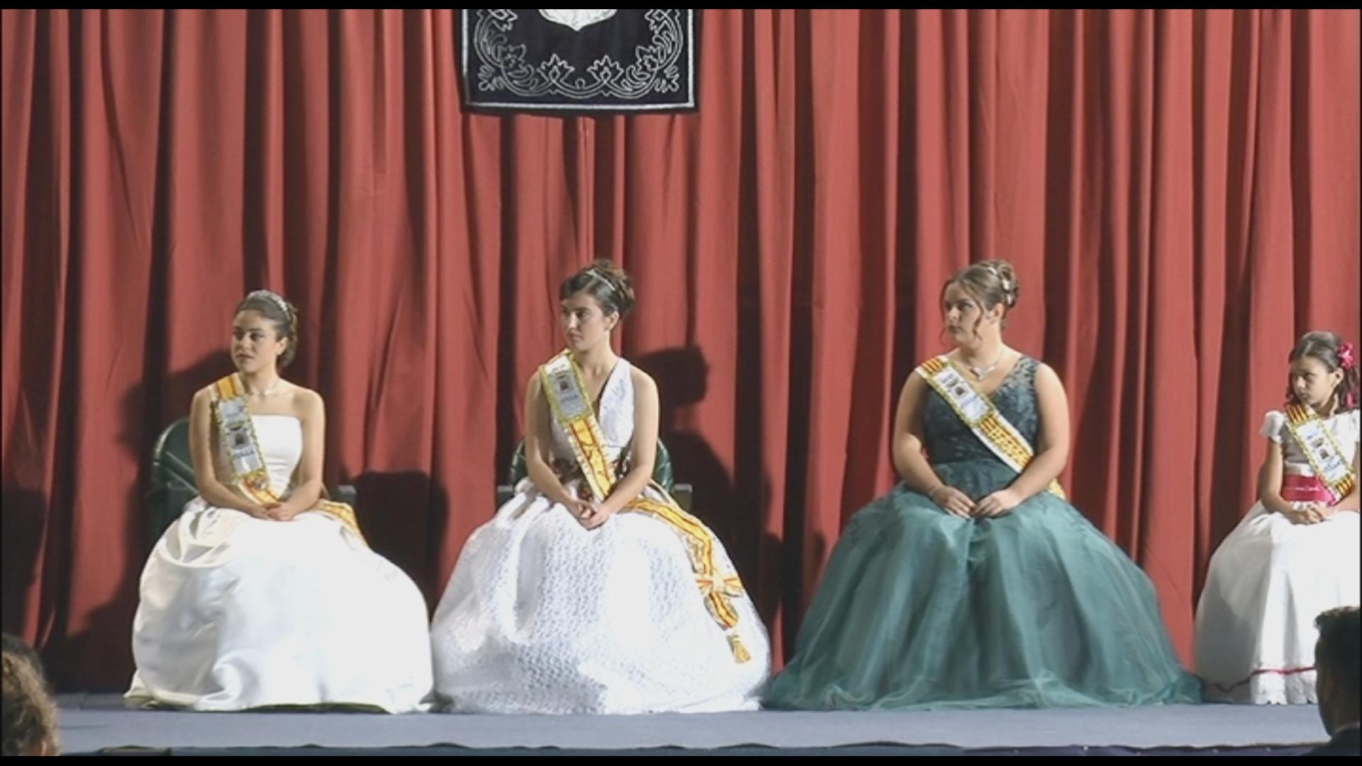 Culla, presentació de les regines i dames de les Festes Patronals