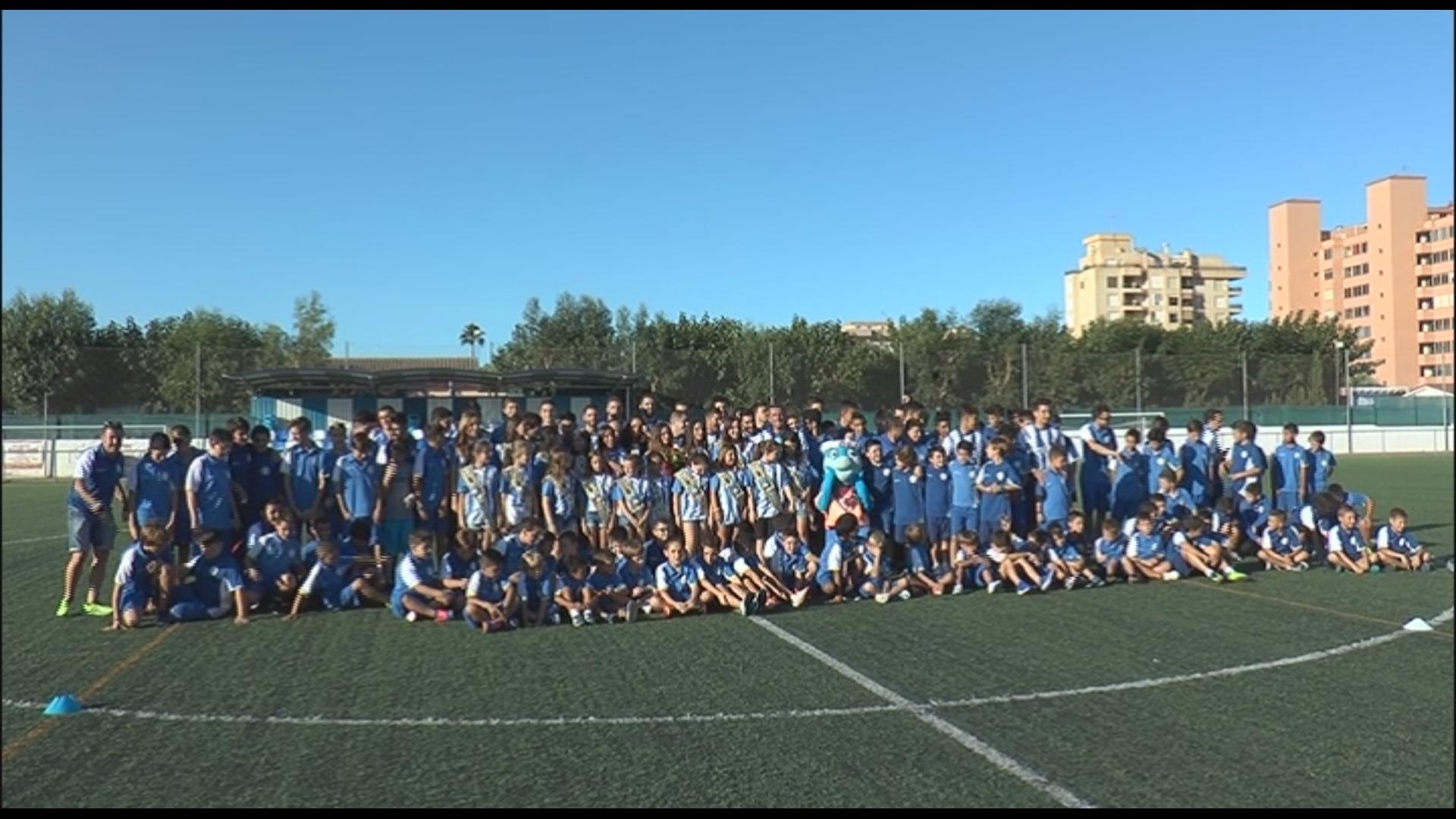 Peníscola, presentació dels equips de futbol de l'ACD Peníscola