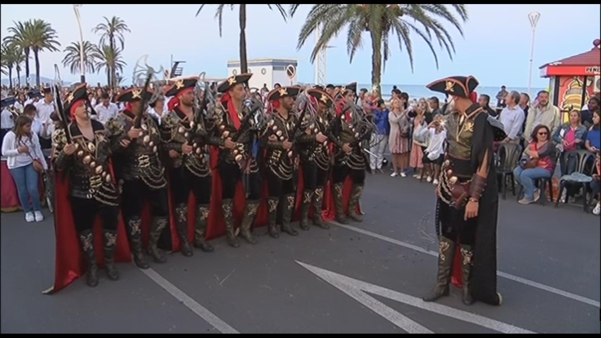 Peníscola celebra les desfilades de Moros i Cristians