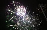 Peñíscola; sensacional castell de focs artificials. Festes Patronals de Peñíscola 10/09/2017