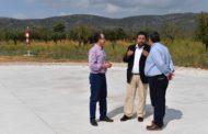 Alcalà, la Diputació finalitza les feines de construcció de l'heliport