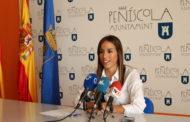 Peñíscola; roda de premsa de la regidora de Festes. Balanç de Festes 28/09/2017