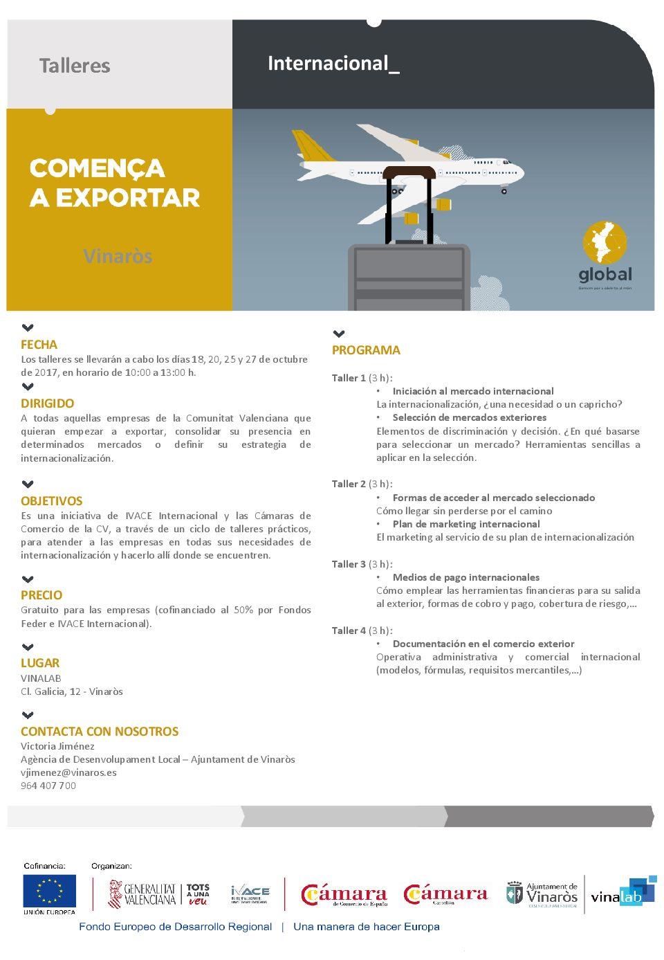 Vinaròs, a l'octubre es posarà en marxa el programa