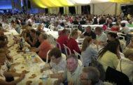 Peñíscola; tradicional Sopar de Pa i Porta al Parador de Festes 10/09/2017