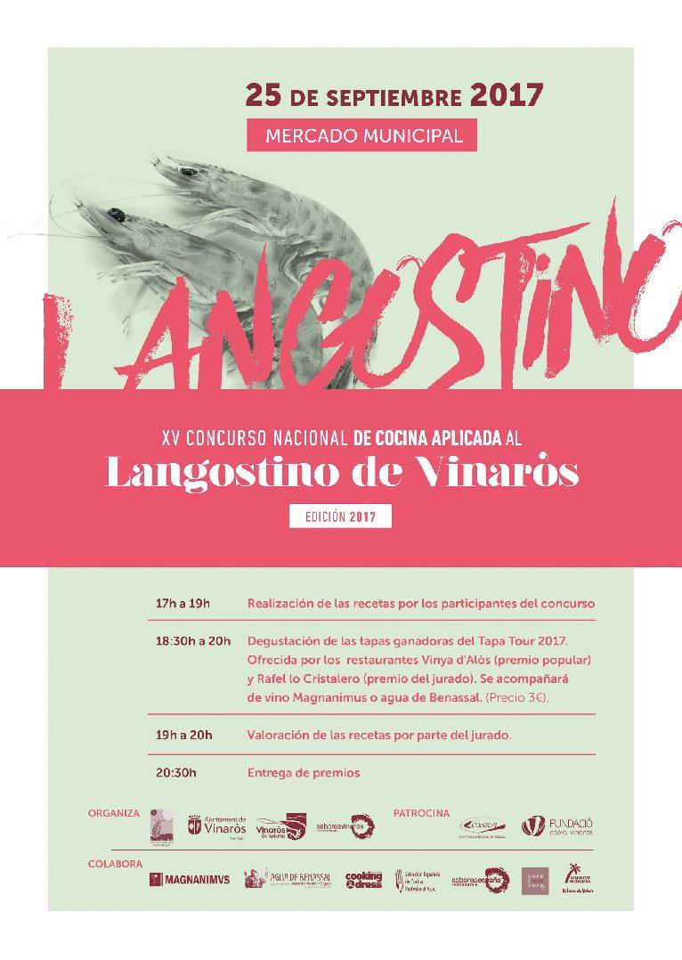 Vinaròs, dilluns se celebrarà el 15é Concurs de Cuina Aplicada al Llagostí