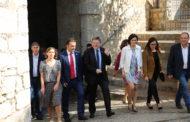 Peníscola, el president Puig fa la primera visita institucional al municipi