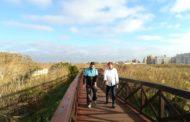 Peñíscola; visita a les obres de millora de la passarel.la de la marjal i el cementiri 26/10/2017