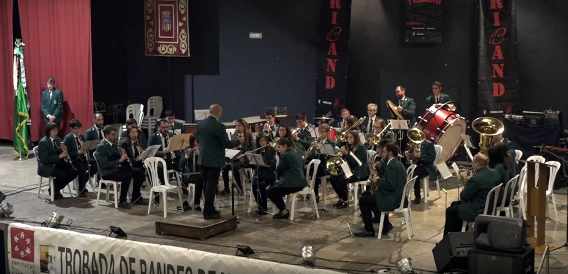 Morella va acollir dissabte la 24a Trobada de Bandes de Música Els Ports Maestrat