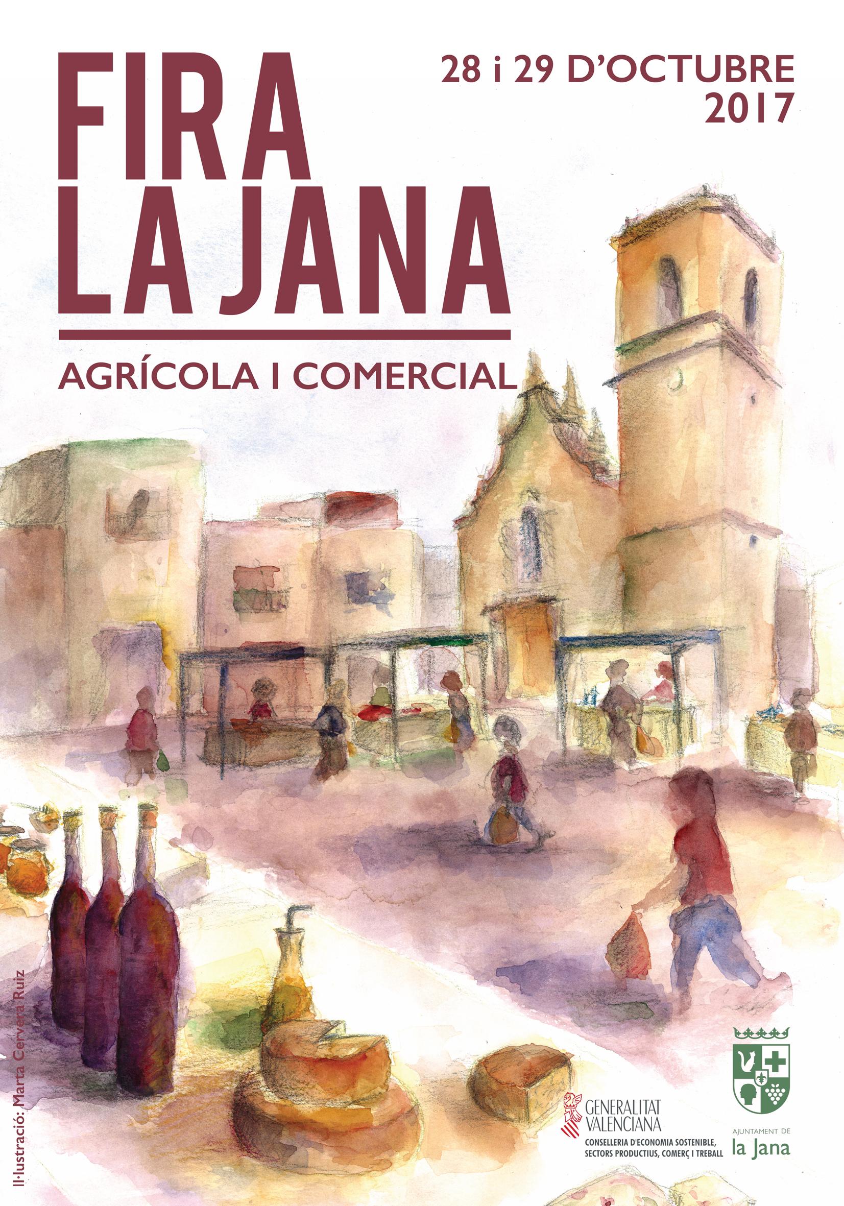 La Jana celebrarà aquest cap de setmana la Fira Agrícola i Comercial
