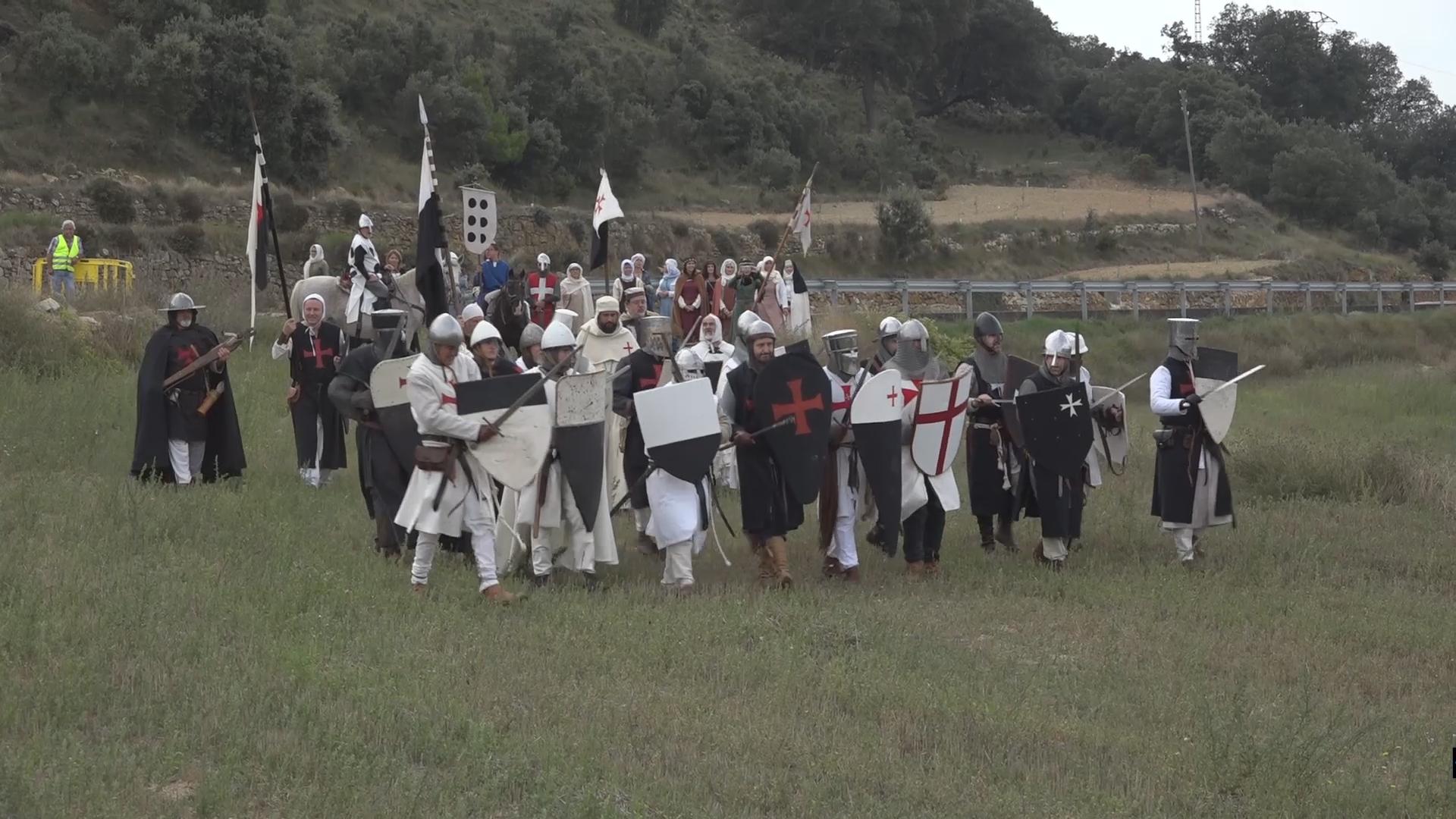 Culla, centenars de visitants viatgen fins al municipi per gaudir de la recreació històrica