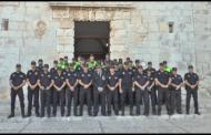 Peníscola celebrar el dia de Sant Miquel, patró de la policia