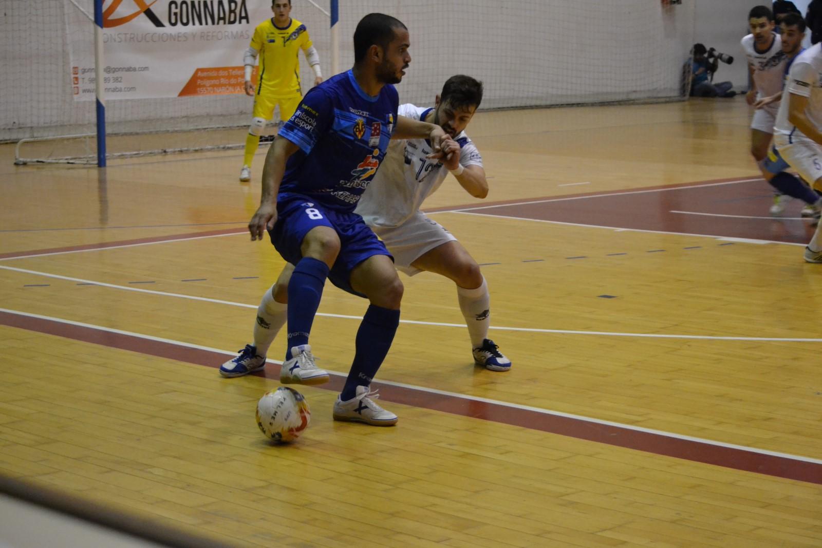 Futbol Sala, el Peníscola empata davant del O Parrulo Ferrol