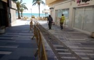 Alcalà, comencen les obres renovació de la xarxa de sanejament a la plaça de la Constitució