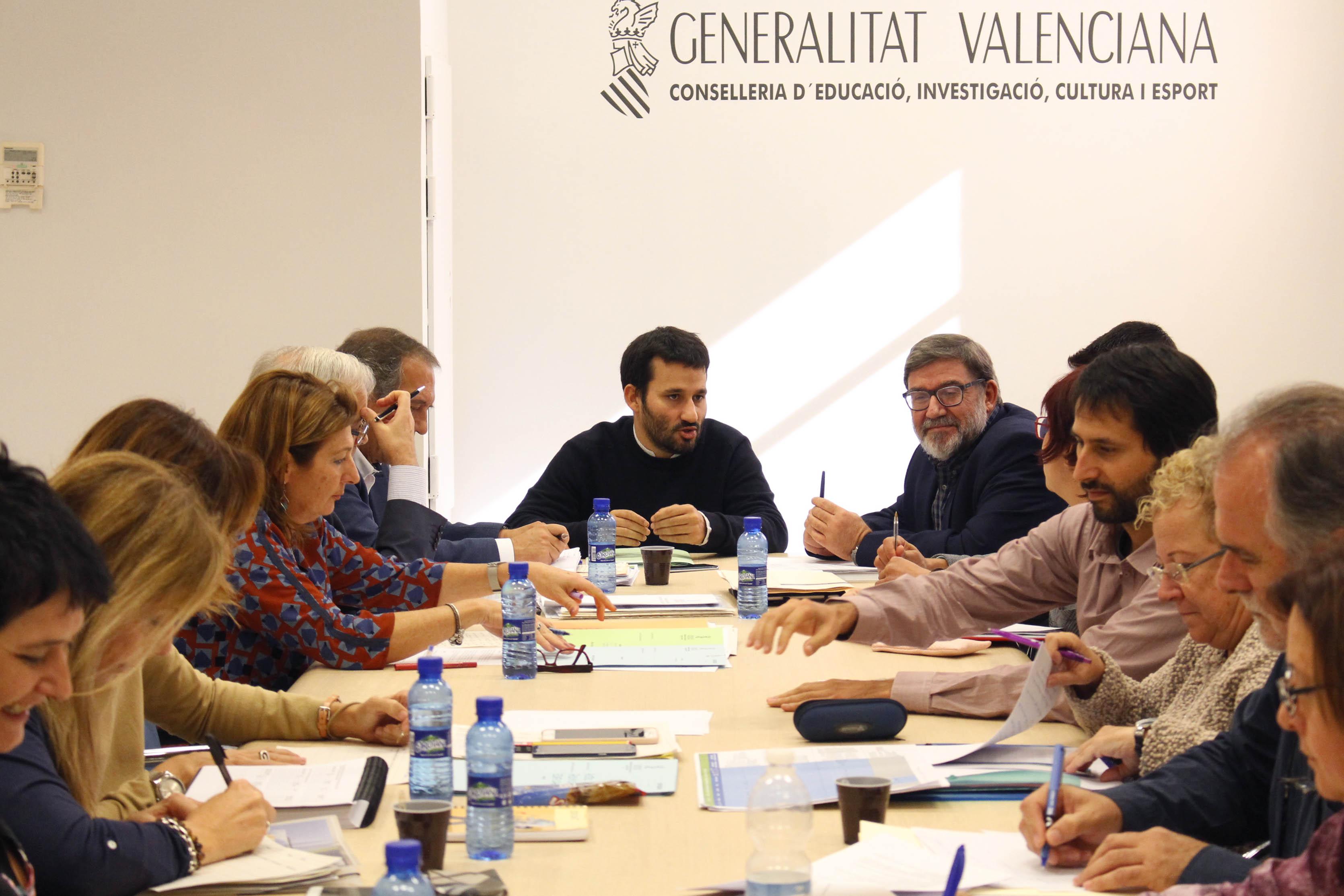 Vinaròs, l'alcalde Pla es reuneix amb el conseller Marzà per parlar del programa Edificant