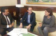 Alcalà, la Diputació col·laborarà amb l'Ajuntament per reparar la xarxa de sanejament de Les Fonts