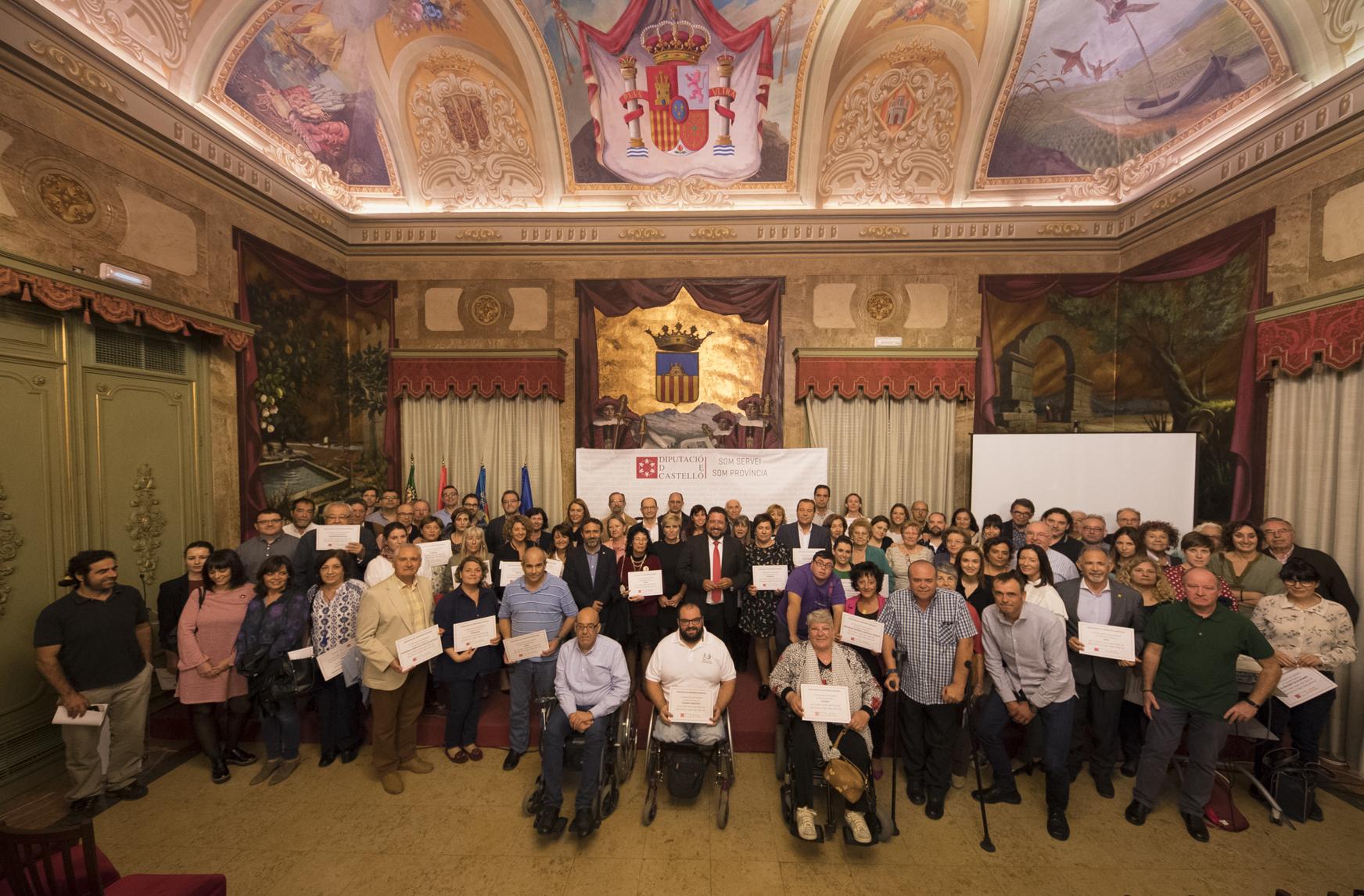 La Diputació reconeix la tasca de les entitats socials i anuncia una nova partida d'inversions per al 2018