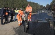 La Diputació escomet obres de reparació en les carreteres de l'interior de la província