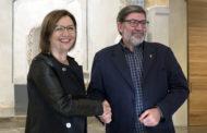 Benicarló i Vinaròs signen el conveni de col·laboració per posar en marxa l'EDUSI