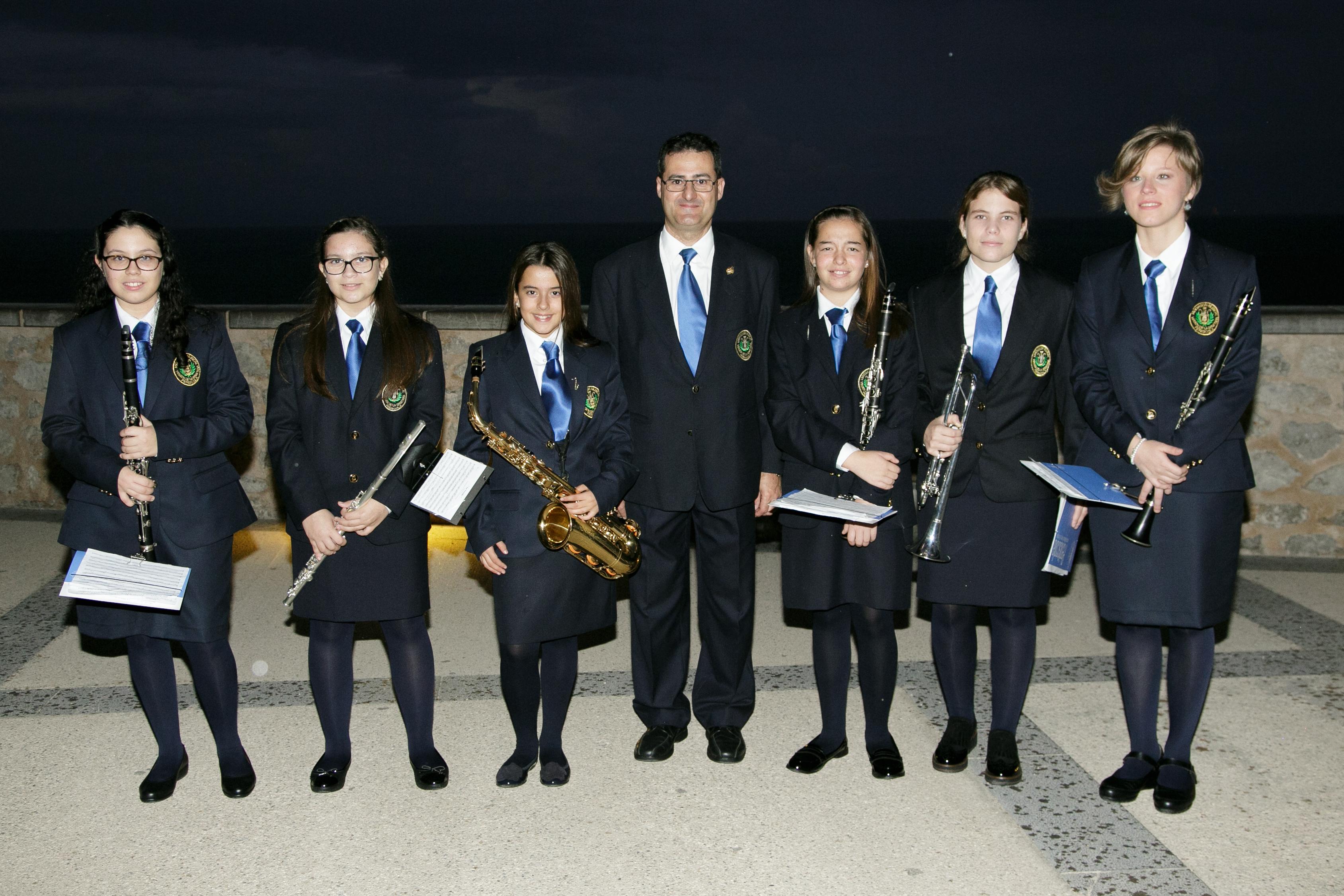 Peníscola, l'Associació Musical dona la benvinguda als nous integrants de la banda