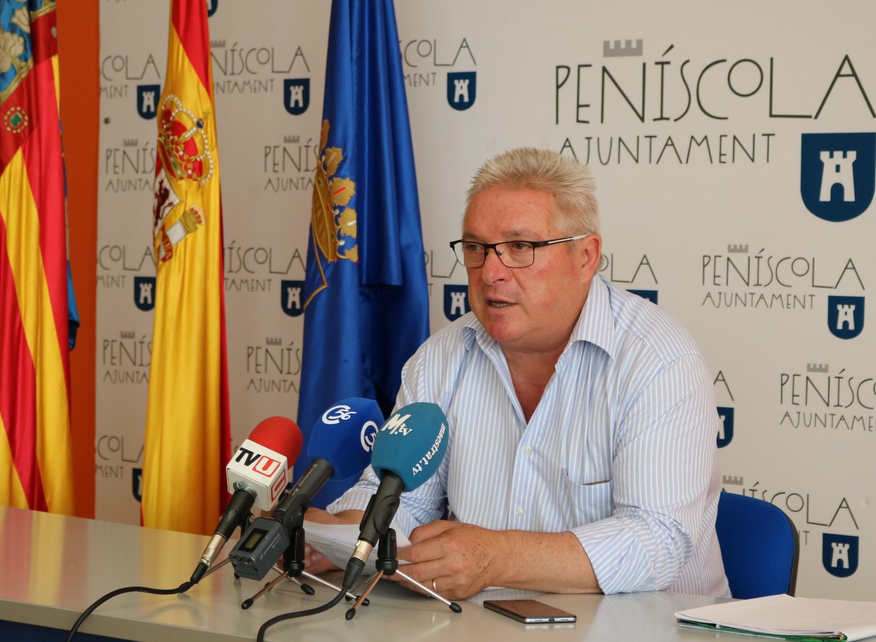 Peníscola, l'Ajuntament considera que la inversió de la Generalitat és insuficient per adequar la carretera CV141