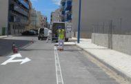 Peníscola, la Brigada Municipal realitza feines de manteniment de les infraestructures locals