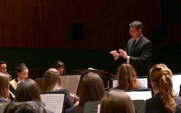 Peníscola, l'Associació Musical Verge de l'Ermitana va celebrar dissabte el concert de Santa Cecília