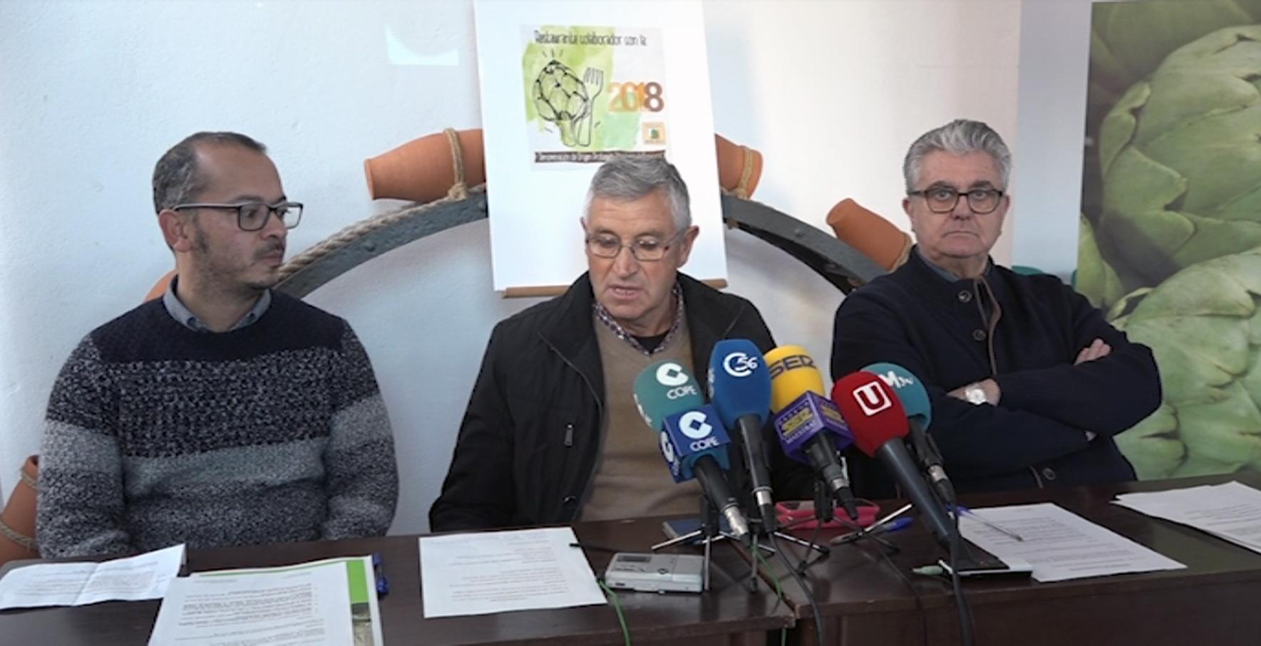 Benicarló, el Consell Regulador atorgarà un distintiu indentificatiu als restaurants que cuinen amb la carxofa protegida