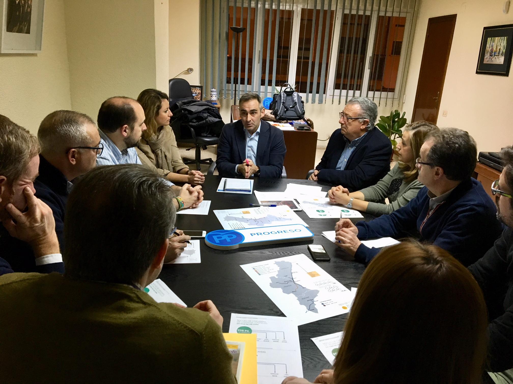 El PP de Castelló fa un balanç positiu de l'augment dels rodalies aprovat pel Govern assegurant que millorarà les oportunitats
