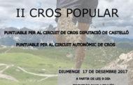 Benicarló celebrarà diumenge la 37a Cros d'Atletisme Ciutat de Benicarló