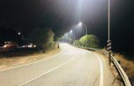 Alcalà, s'instal·len noves lluminàries als accessos de la ciutat per la N-340