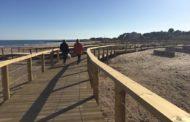 Alcalà, finalitzen les obres d'adequació de la platja del Carrgador