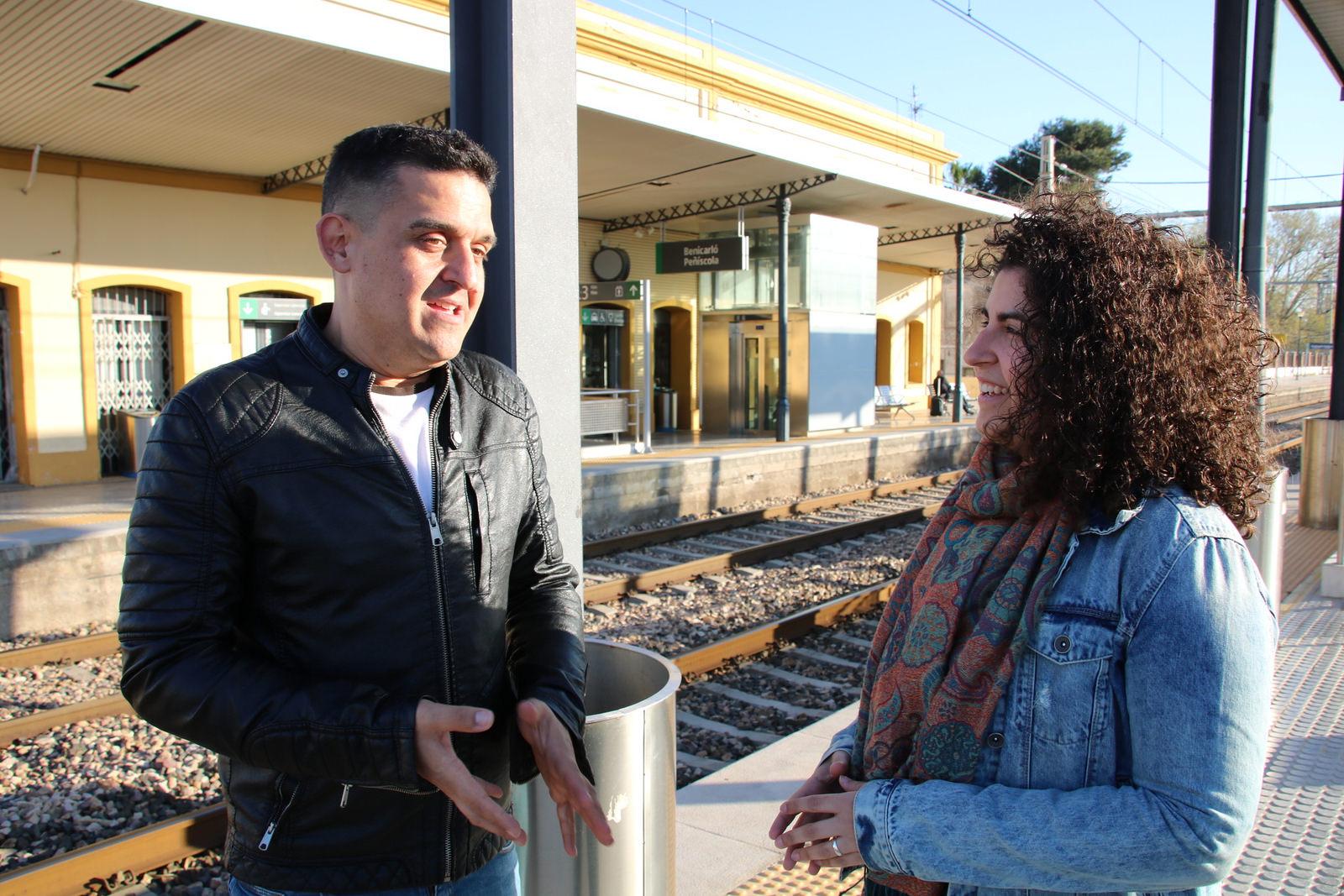 Compromís denuncia la falta de resposta del Govern Central en relació a l'augment dels trens al Maestrat