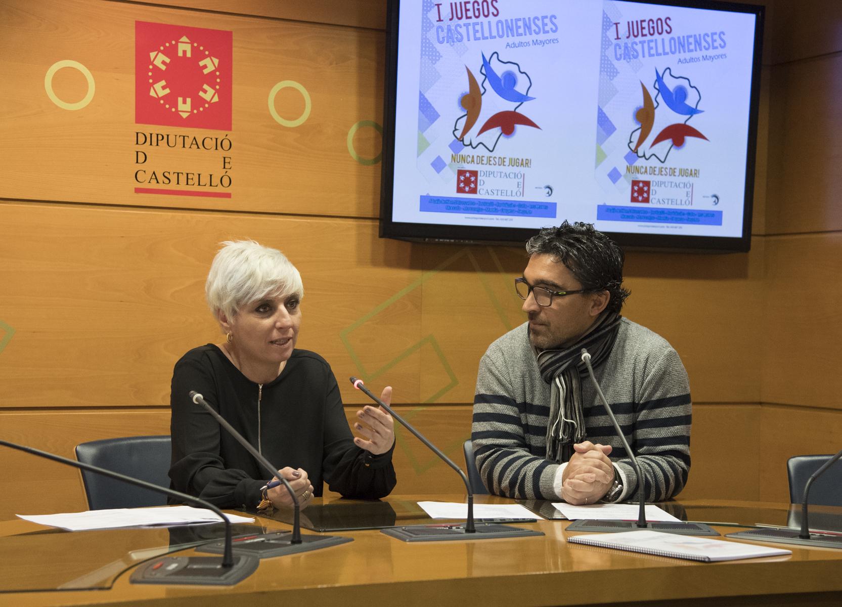 La Diputació organitzarà els 1es Jocs Castellonencs d'Adults Majors