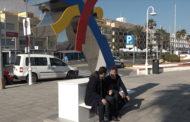 Peníscola, el secretari autonòmic de Turisme, Francesc Colomer, inaugura el punt de recarrega