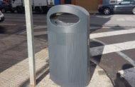 Vinaròs, l'Ajuntament continua amb la renovació de les papereres