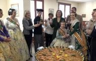 Benicarló; les comissions falleres visiten el Centre Geriàtric Sant Bartomeu 19/03/2018